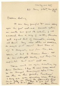 Letter from Katherine Anne Porter to Barbara Harrison Wescott, May 01, 1937