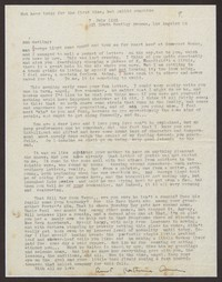 Letter from Katherine Anne Porter to Ann Holloway Heintze, July 07, 1945