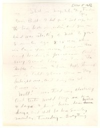 Letter from Katherine Anne Porter to William Humphrey, November 05, 1967