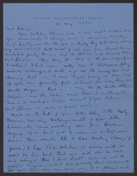 Letter from Katherine Anne Porter to Paul Porter Jr., May 18, 1946