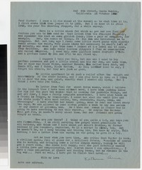 Letter from Katherine Anne Porter to Gay Porter Holloway, October 16, 1945
