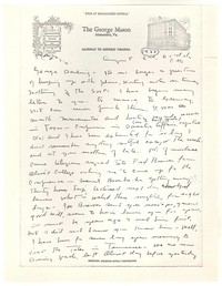Letter from Katherine Anne Porter to George Platt Lynes, August 02, 1937
