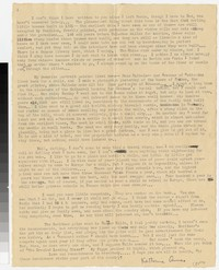 Letter from Katherine Anne Porter to Gay Porter Holloway, July 25, 1932