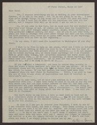 Letter from Katherine Anne Porter to Eugene Pressly, March 20, 1937