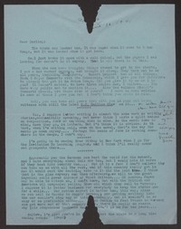 Letter from Katherine Anne Porter to Albert Erskine, June 10, 1941