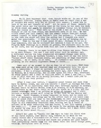 Letter from Katherine Anne Porter to Glenway Wescott, June 28, 1940