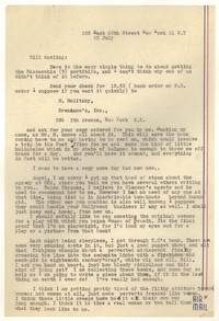 Letter from Katherine Anne Porter to William Goyen, July 20, 1951
