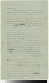 Letter from Katherine Anne Porter to Gay Porter Holloway, July 04, 1920