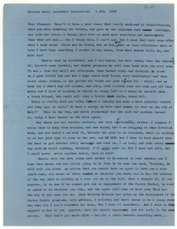 Letter from Katherine Anne Porter to Glenway Wescott, July 05, 1956