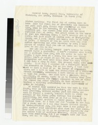 Letter from Katherine Anne Porter to Gay Porter Holloway, March 21, 1954