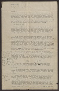 Letter from Katherine Anne Porter to Harrison B Porter, March 02, 1933