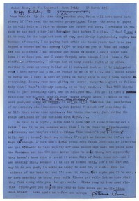 Letter from Katherine Anne Porter to Donald Elder, March 17, 1963