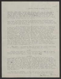 Letter from Katherine Anne Porter to Albert Erskine, July 22, 1938