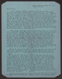 Letter from Katherine Anne Porter to Albert Erskine, August 17, 1941