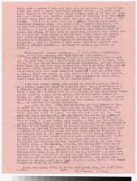Letter from Katherine Anne Porter to Gay Porter Holloway, July 26, 1949