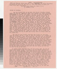 Letter from Katherine Anne Porter to Gay Porter Holloway, October 29, 1951