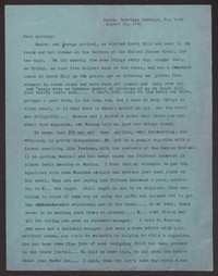 Letter from Katherine Anne Porter to Albert Erskine, August 25, 1941