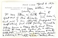 Letter from Katherine Anne Porter to William Humphrey and Dorothy Humphrey, April 06, 1971