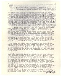 Letter from Katherine Anne Porter to William Humphrey, October 21, 1953