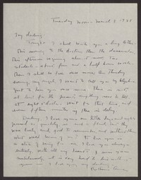 Letter from Katherine Anne Porter to Albert Erskine, March 08, 1938