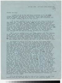 Letter from Katherine Anne Porter to Gay Porter Holloway, May 28, 1951