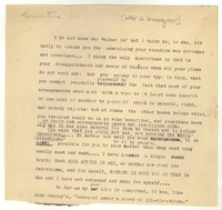 Letter from Katherine Anne Porter to Ernestine Evans, January 12, 1934