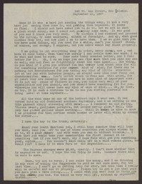 Letter from Katherine Anne Porter to Eugene Pressly, September 21, 1937