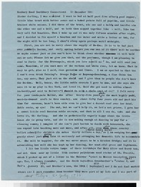 Letter from Katherine Anne Porter to Gay Porter Holloway, December 13, 1957