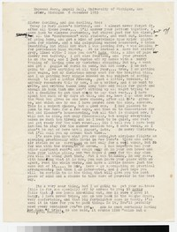 Letter from Katherine Anne Porter to Gay Porter Holloway, December 08, 1953