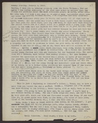 Letter from Katherine Anne Porter to Eugene Pressly, January 04, 1932