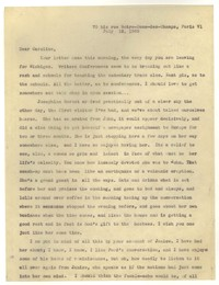 Letter from Katherine Anne Porter to Caroline Gordon, July 12, 1935
