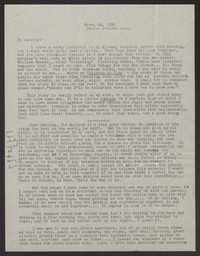 Letter from Katherine Anne Porter to Albert Erskine, March 24, 1938