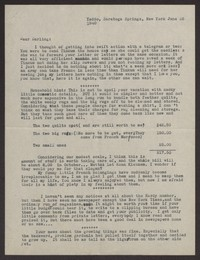 Letter from Katherine Anne Porter to Albert Erskine, June 26, 1940