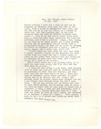 Letter from Katherine Anne Porter to George Platt Lynes, May 16, 1947