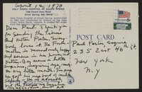 Letter from Katherine Anne Porter to Paul Porter Jr., April 12, 1970