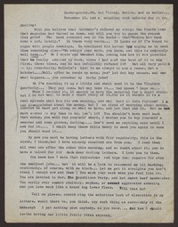 Letter from Katherine Anne Porter to Eugene Pressly, November 13, 1931