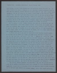 Letter from Katherine Anne Porter to Paul Porter Jr., March 01, 1957