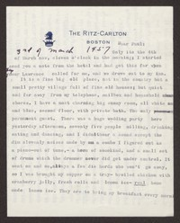 Letter from Katherine Anne Porter to Paul Porter Jr., March 03, 1957