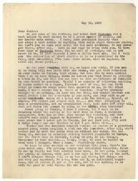 Letter from Katherine Anne Porter to Janice Biala, May 16, 1935