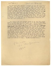 Letter from Katherine Anne Porter to Ford Maddox Ford and Janice Biala, August 22, 1933