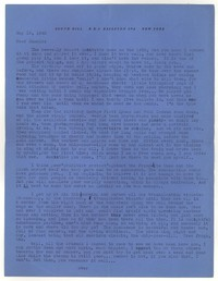 Letter from Katherine Anne Porter to Donald Elder, May 18, 1943