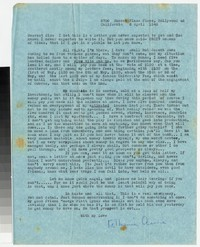 Letter from Katherine Anne Porter to Gay Porter Holloway, April 06, 1948