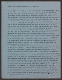 Letter from Katherine Anne Porter to Paul Porter Jr., August 31, 1957