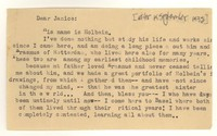 Letter from Katherine Anne Porter to Janice Biala, September 19, 1932