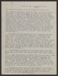 Letter from Katherine Anne Porter to Eugene Pressly, March 16, 1936