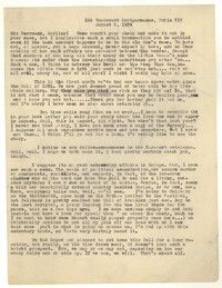 Letter from Katherine Anne Porter to Josephine Herbst, August 05, 1934