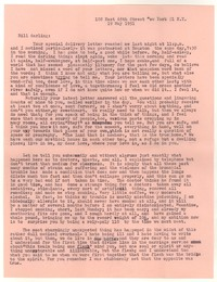 Letter from Katherine Anne Porter to William Goyen, May 19, 1951