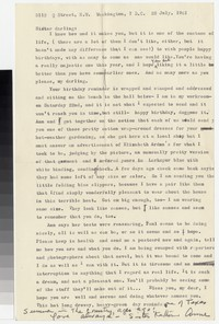 Letter from Katherine Anne Porter to Gay Porter Holloway, July 22, 1961