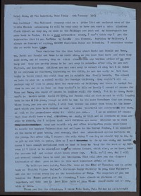 Letter from Katherine Anne Porter to Ann Holloway Heintze, January 04, 1963