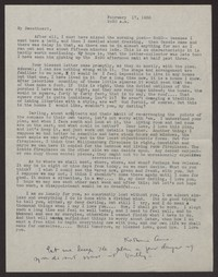 Letter from Katherine Anne Porter to Albert Erskine, February 17, 1938